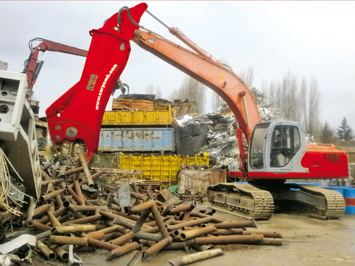 Demolition, recycling and forestry equipment … Manufacturer CMB
