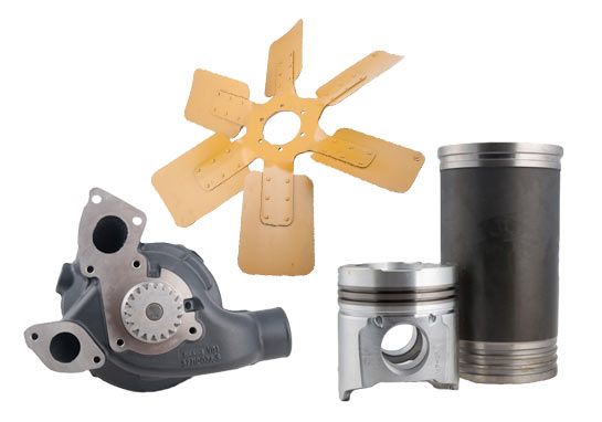 Excavator Spare Parts, manufacturer Jcb, Hitachi, Komatsu, Hyundai